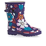 Animal Splashdown Girls Wellington Boots - Multicolour