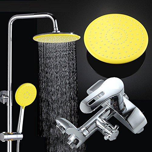 Hlluya Wasserhahn für Waschbecken Küche Dusche Kupfer Dome die Hubeinstellschraube duschen die heißen und kalten Wasserhahn mit abnehmbarem zu Drehen, Dusche