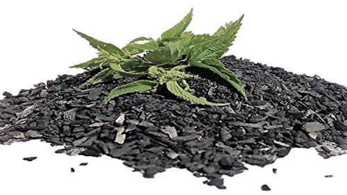 CARBOGARDEN aktivierte Pflanzenkohle, mit Brennnesseljauche veredelt, 10 Liter, in Premium Qualität, nachhaltig und umweltschonend in Deutschland hergestellt