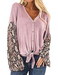 ONLY Damen Oversize Strick-Pullover Shirt onlELCOS 4//5 SOLID TOP NOOS vokuhila