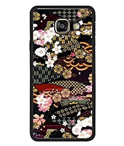 PrintVisa Designer Back Case Cover for Samsung Galaxy A7 (6) 2016 :: Samsung Galaxy A7 2016 Duos :: Samsung Galaxy A7 2016 A710F A710M A710Fd A7100 A710Y :: Samsung Galaxy A7 A710 2016 Edition (Abstrat Photo White Background Cover Pouch)