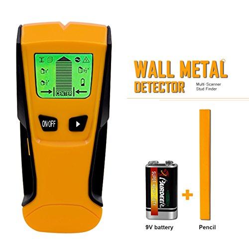 Multifunktions Detektor Digitales Ortungsgerät für Metall Holz Wechselspannung Leistungssucher Wand Scanner Stud