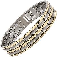 North South T40silber und gold Titanium zweireihig Magnetverschluss Armband mit GRATIS Luxus Geschenkbox und... preisvergleich bei billige-tabletten.eu