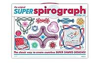 Kahootz Plastic Spirograph Super Kit 75 PCS Model