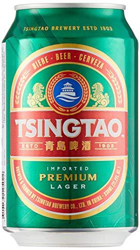 TSINGTAO chinesisches Dosenbier (4,7% vol., Einwegpfand) 24er Pack (24 x 0,33l)