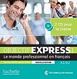 Objectif Express 1 NE : CD audio classe