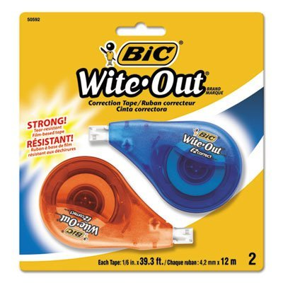 wite-out-ez-correct-correction-tape-non-refillable-1-6-x-472-2-pack-sold-as-2-package-by-bic