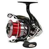 Daiwa Ninja 4000 A, Spinning Angelrolle mit Frontbremse, 10218-400