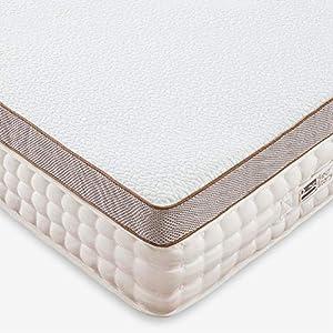 BedStory 5cm Gel Memory Foam Topper 140×200 Matratzentopper, Visco-Gelschaum Matratzenauflage für unbequemem Betten…