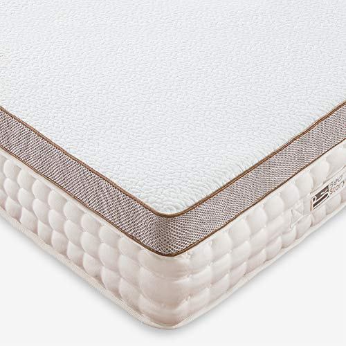 BedStory 7.6cm Gel Memory Foam Topper 140x200 Matratzentopper, Visco-Gelschaum Matratzenauflage für unbequemem Betten/Boxspringbett unbequemes Schlafsofa -