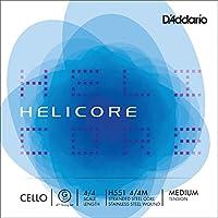 D'Addario H551 4/4M - Cuerda para violonchelo en Sol, 4/4 (tensión media)