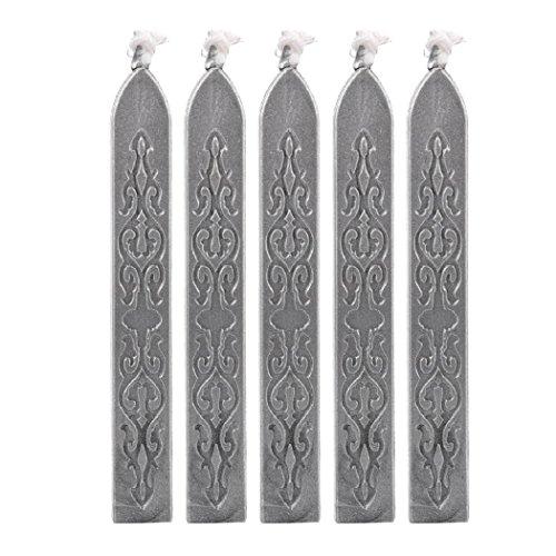 Preisvergleich Produktbild KayMayn 10 Stück Antike Siegelwachs Dichtungs Wachs Versiegelung Sticks, für Retro Vintage Wachs Siegel Stempel