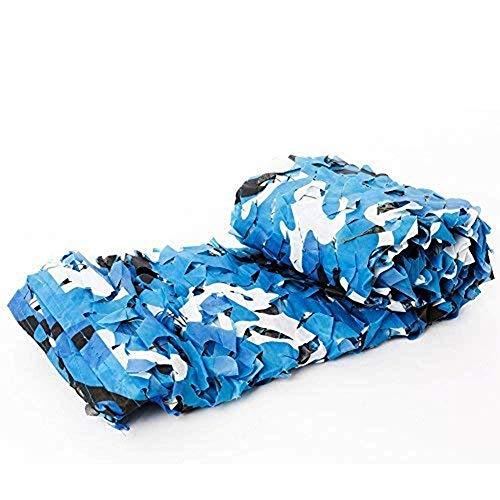 Carl Artbay Markisenplane Marine Blue Camouflage Net für Swimmingpool im Freien dekorative Schatten (Größe: 7x7m) Camouflage Tarnnetz (Size : 5x9m)