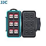 Ares Foto Speicherkarten Schutzbox für 12 x Nintendo Switch Spiele • Memory Card Case • Reisetasche • Schutzhülle • Card Safe • Tasche • Etui für Cartridges • Spiele (MC-NSMSD24)