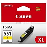 Canon CLI-551XLY High Yield Ink Cartridge - Yellow