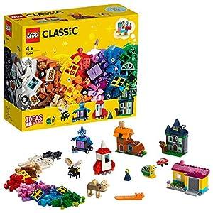 LEGO Classic LeFinestredellaCreatività, Set di Mattoncini Giocattolo Colorati, 11004 5702016367799 LEGO