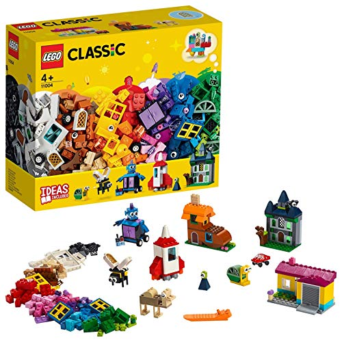 Classic Tür (LEGOClassic 11004 -Bausteine kreativ mit Fenstern, Bauset)