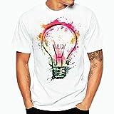 Camisa Hombre, Camisetas casuales de impresión de tallas grandes verano Camiseta de manga corta de...