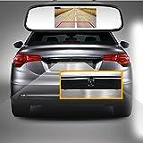 camecho Auto Rear View License Plate Kamera 140° Weitwinkel 4LED Night Vision Light & Wasserdicht IP67geeignet für SUV Truck