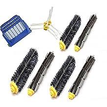 natoo envío gratuito Kit de accesorios para iRobot Roomba 585595–incluye, 3unidades filtro, cepillo lateral, baqueta Cepillo de cerdas y cepillo