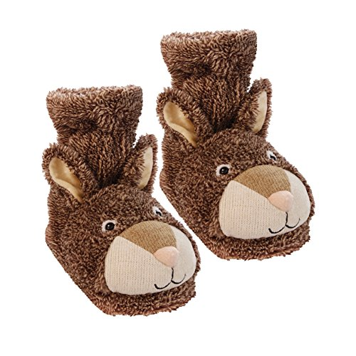 Aroma Home Shoes Damen Fun for Feet Bunny Hausschuhe, Braun (Braun), 41 EU (7 UK)