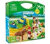 PLAYMOBIL 5893 - Koffer Reiter und Ponys