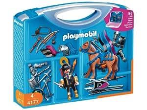 Playmobil - 4177 - Playmobil  - Valisette Chevalier - Accessoire