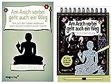 Alexandra Reinwarth Am Arsch vorbei geht auch EIN Weg - Das Buch & Das Gelassenheitskratzbuch
