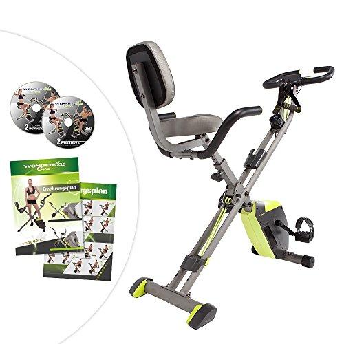 Wonder Core Cycle Ganzkörpertraining Ergometer Rad Fitness Hometrainer inkl. Ernährungsplan Übungsplan 2 DVDs Mediashop (Fitness Cycle)
