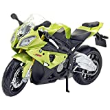 #4: Maisto Fresh Metal Bmw S1000RR 1:18 Scale Model Toy Bike - Green