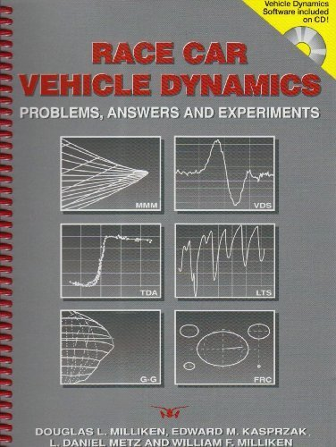 Race Car Vehicle Dynamics - Problems, Answers and Experiments (Premiere Series Books) by Edward M. Kasprzak, L. Daniel Metz, William F. Milliken Douglas L. Milliken(2003-05-30) (Race Car Vehicle Dynamics)