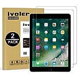 iVoler [2 Unidades] Protector de Pantalla para Nuevo iPad Air 2019 / iPad Pro 10.5 Pulgadas, Cristal Vidrio Templado Premium [9H Dureza] [Alta Definicion 0.3mm] [2.5D Round Edge]
