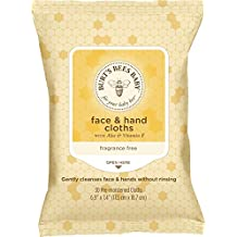 Baby Bee Face & Hand Cloths Burt's Bees (30 Sheets)