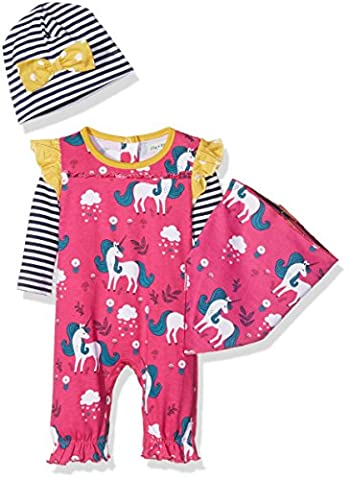 Lilly and Sid Baby-Girls Unicorn Gift and Box Clothing Set,