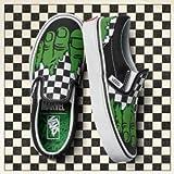 Vans Marvel Hulk/Checkerboard Classic Slip on Sneakers-UK 8