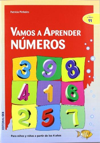 Vamos a aprender numeros: Para niños y niñas a partir de los 4 años (Ciudad de las ciencias) por Patricia Pinheiro