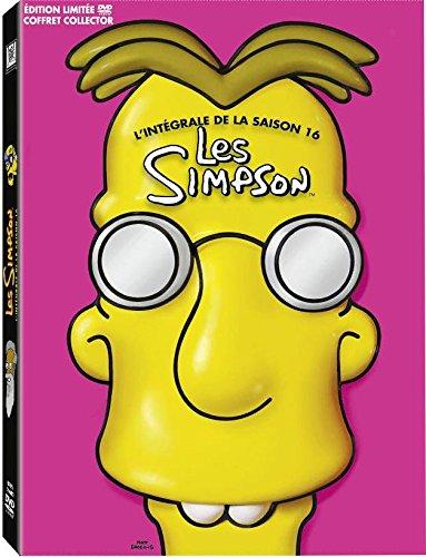 Les Simpson - L'intégrale de la saison 16 [Coffret Collector - Édition limitée], DVD/BluRay