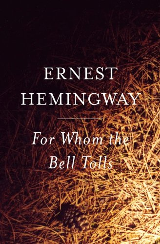 Book cover for For Whom the Bell Tolls