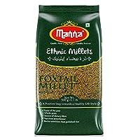 Manna Foxtail Millet(Kaon/Kang/Kangni/Kakum/Navani/korralu/Korra/thinai) 1kg Pack