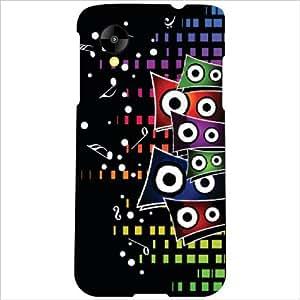 LG Nexus 5 LG-D821 Back Cover - Loudspeaker Designer Cases