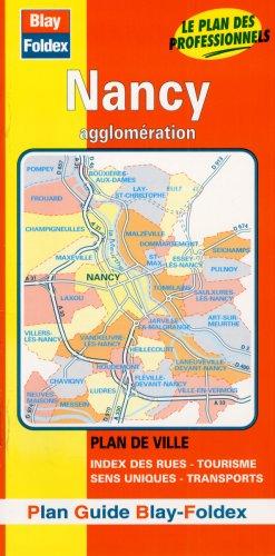 Plan de ville : Nancy (avec un index)