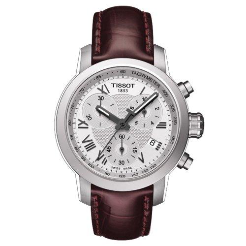 Tissot T0552171603301Prc 200donna watch-argento quadrante cassa in acciaio movimento al quarzo