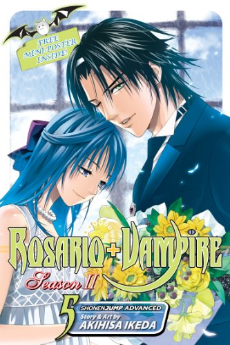 Rosario+Vampire: Season II, Vol. 5: Test Five: Siren Song (English Edition)