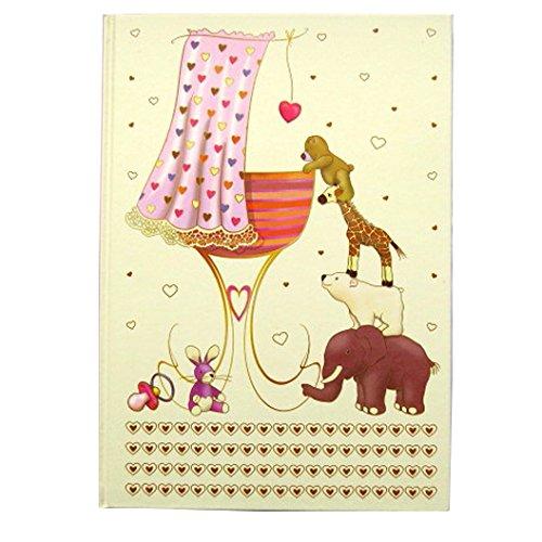 A4 Gedächtnisbuch - Neue Baby - Rosa - 120 Seiten - Größe - 297mm x - Band-speicher-fall