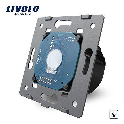 Manufacturer, Livolo EU Standard Dimmer Switch Without Glass Panel, Wall Light Touch Dimmer Switch, VL-C701D
