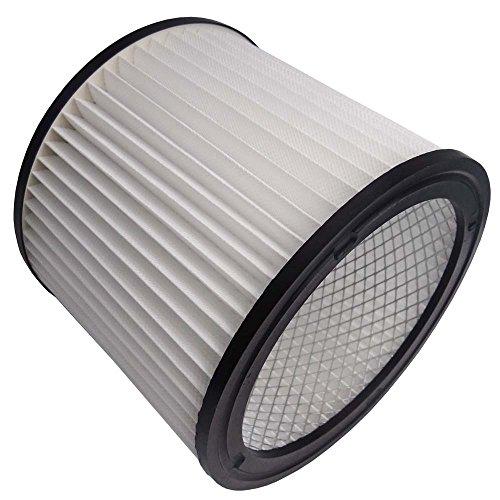 1 Nass-Trockensauger Faltenfilter Filter passend für Parkside PNTS 30/4(E/S) Staubsauger inkl. 1 Rolle 16l Abfallbeutel
