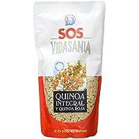 SOS Vidasania Quinoa Integral Y Roja 200G - [Pack De 12] - Total 2400 Gr