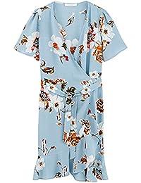 Promod Kleid mit Volantsaum