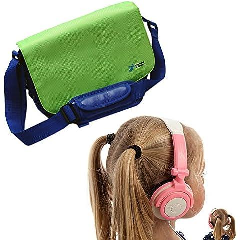 UltimateAddons–Kids Messenger hombro bolsa de almacenamiento con auriculares apto para LeapFrog LeapReader