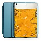 Apple iPad Mini 4 Smart Case hellblau Hülle Tasche mit Ständer Smart Cover Bier Glas Stein Masskrug